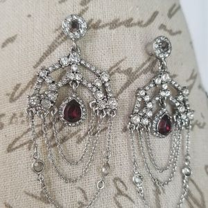 Ethereal Chandelier Statement Earrings